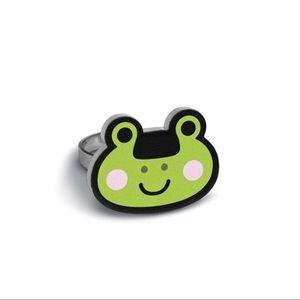BRAND NEW Kawaii Frog Adjustable Ring